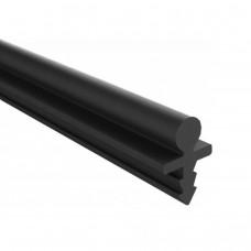 Направляющая нижняя SKM-30 PVC30, пластик, 3м