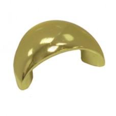 Ручка скоба Boyard RS001GP.4/32 (S0130) ракушка, золото