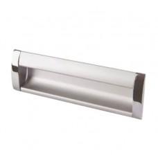 Ручка купе AR-B326/160.120 Н001-008/160 А, алюминий/хром