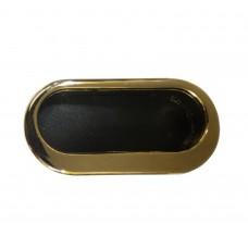 Ручка купе овальная, Tempo 071 77,2 х 35 мм, золото