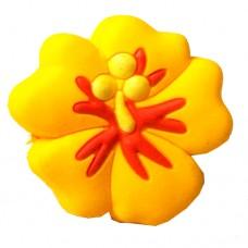 Ручка-кнопка 08М-069, H-23мм flower (цветок)