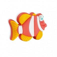 Ручка-кнопка 08М-070, H-23мм fish (рыба)