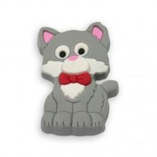 Ручка-кнопка 08М-070, H-23мм cat (киска)