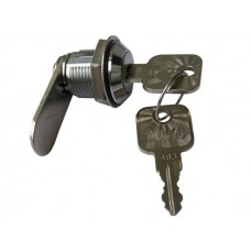 Замок мебельный №958 поворотный с металлическим ключом