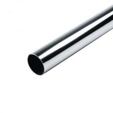 Штанга круглая (труба) 3м d=25мм (0.8мм), хром
