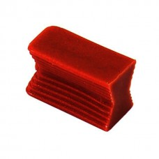 Клипса-крепеж Хоффмана пластик для МДФ (ласточкин хвост) №14, махагон