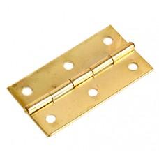 Петля карточная 75х30, золото