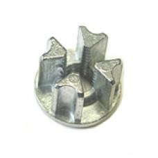 Микрон Втулка металлическая не проходная М10 (ВУ-100) d=25 (под J14)