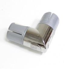 УС-2-ХР Угловое соединение 2х90 для трубы d=25 мм, втулка