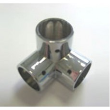 Держатель 3-х труб Т2874/25, хром (ТН-90) 3L-образный