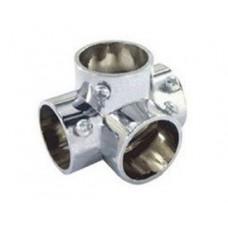 Держатель 4-х труб Т2876/25, хром (Т-91) 5L-образный
